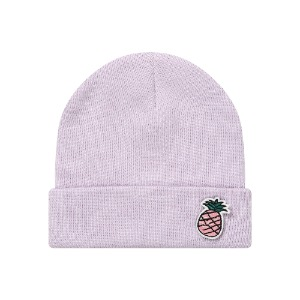 [PINK PINEAPPLE] WAPPEN BEANIE_PURPLE