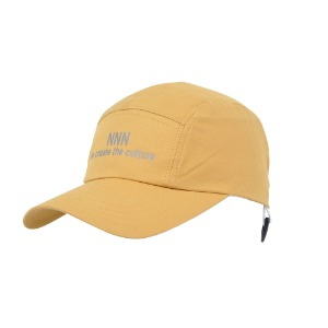[NONAMENEED] Mustard 'we create the culture' reflected 5 panel cap