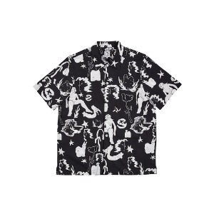 [폴라스케이트] East Dream Shirt - Black/White