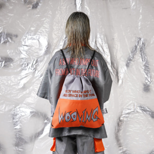 [WOOVING] SPACE GYM SACK - ORANGE