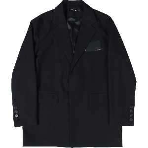 [낫포너드] Card Wallet Oversized Blazer Black