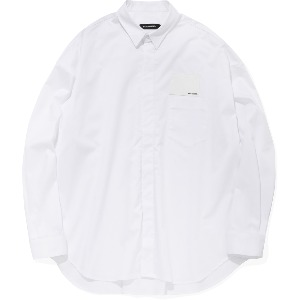 [낫포너드] Card Wallet Oversized Shirts White