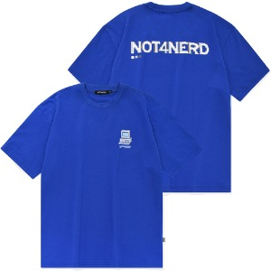 [낫포너드] Dot Pc T-Shirts Blue