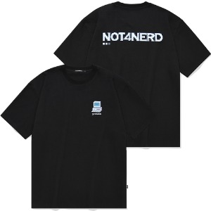 [낫포너드] Dot Pc T-Shirts Black