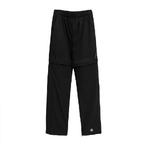 [더블에이씨] V.S Detachable Pants-black