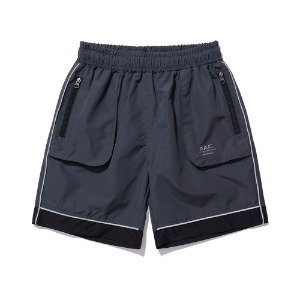 [더블에이씨] Mod01 Reflective Shorts-charcoal