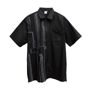 [더블에이씨] Gotha.2 Zip Shirt-black