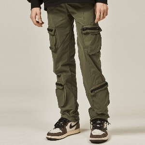 [DEADEND] 4 POCKET CARGO STRING PANTS - KHAKI