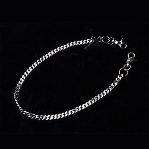 [디베르그] 'The Cross' Chain B type [Surgical Steel] - Silver