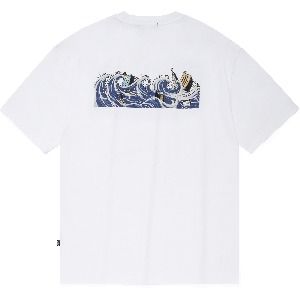 [낫포너드]Tidal Wave T-Shirts White