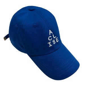 [아클리세] Triangle Logo Ball Cap Blue