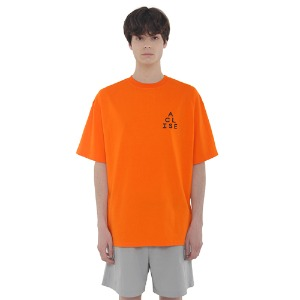 [아클리세] Triangle Logo T-shirts Orange