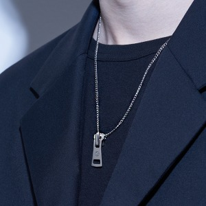 [HAWHA] Zipper Bold Necklace
