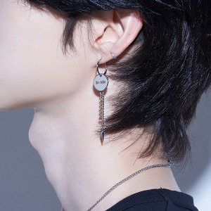 [HAWHA] Circle Eternity Piercing (이어링 변경 가능)
