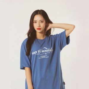 [레베니아] DTB T-shirt_Aqua Blue