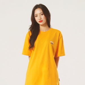 [레베니아] Original Salmon T-shirt_Saffron