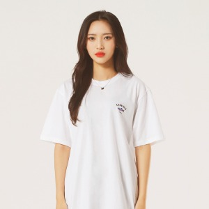 [레베니아] Original Salmon T-shirt_White