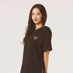 [레베니아] Original Salmon T-shirt_Black