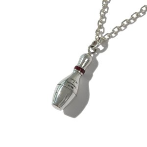 [KRUCHI] BOWLING PIN NECKLACE (SILVER)