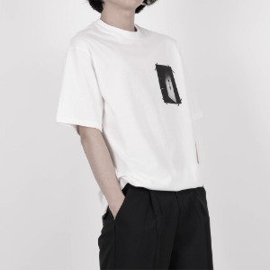 [디베르그] Heaven's Door T-Shirt [White]