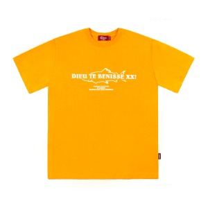 [레베니아] DTB T-shirt_Saffron Yellow