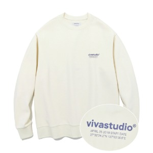 [바바스튜디오] LOCATION CREWNECK JA - IV