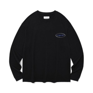 [비바스튜디오] BIG CIRCLE LOGO L/S JA - BK