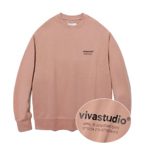 [바바스튜디오] LOCATION CREWNECK JA - IP