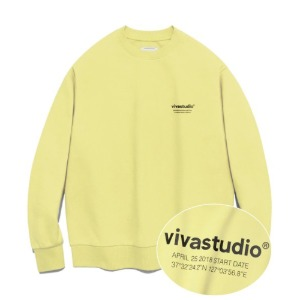 [바바스튜디오] LOCATION CREWNECK JA - PY