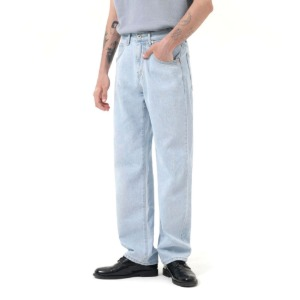 [라모드치프] REGULAR WIDE STRAIGHT JEANS (LIGHTBLUE)