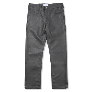 [킹아카이브] Faux Leather Pants -Gray