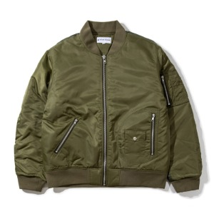 [킹아카이브] Quilted MA-1 Flight Jacket -Khaki