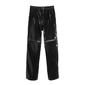 [더블에이씨] Zippered Straight/Bootcut Trouser-enamel