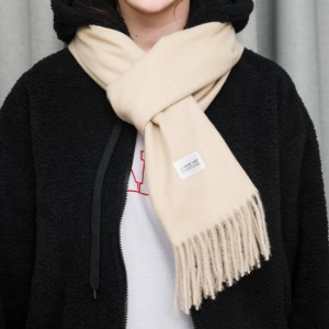 [라모드치프] USEFUL LONG MUFFLER (BEIGE)