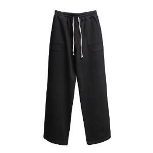 [더블에이씨] Pentagonal Pocket Sweat Pants-black