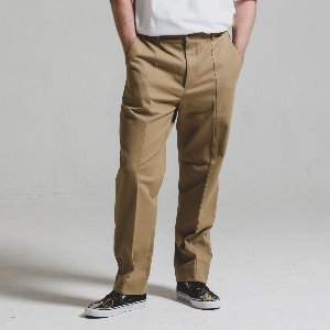 [STAGE NAME]Double stitch STG PANTS_BEIGE