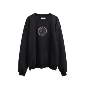 [더블에이씨] S.S.C Reversible Sweatshirt-black