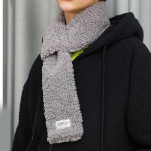 [라모드치프] FLEECE SHOT MUFFLER (GRAY)