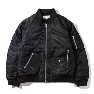 [킹아카이브] Quilted MA-1 Flight Jacket -Black