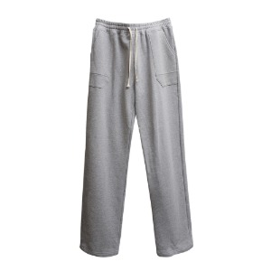 [더블에이씨] Pentagonal Pocket Sweat Pants-gray