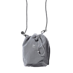 [더블에이씨] SYMBOL LOGO String Bag-gray