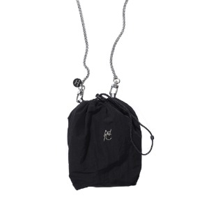[AAC] SYMBOL LOGO String Bag-black