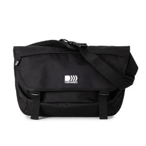[언네임드] SCOTCH POINT MESSENGER BAG - BLACK