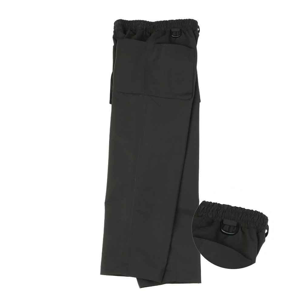 [라운지 에이피티] Double Pocket Handy Pants_Black