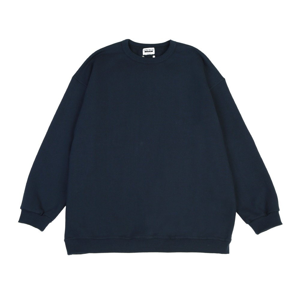 [라운지 에이피티] Campus Crewneck Sweatshirt_Navy
