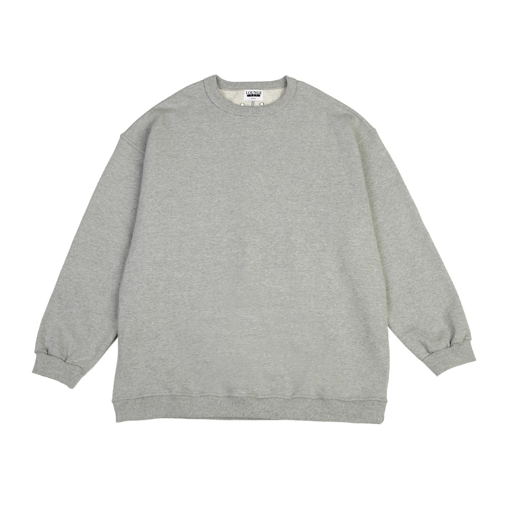 [라운지 에이피티] Campus Crewneck Sweatshirt_Lightgray