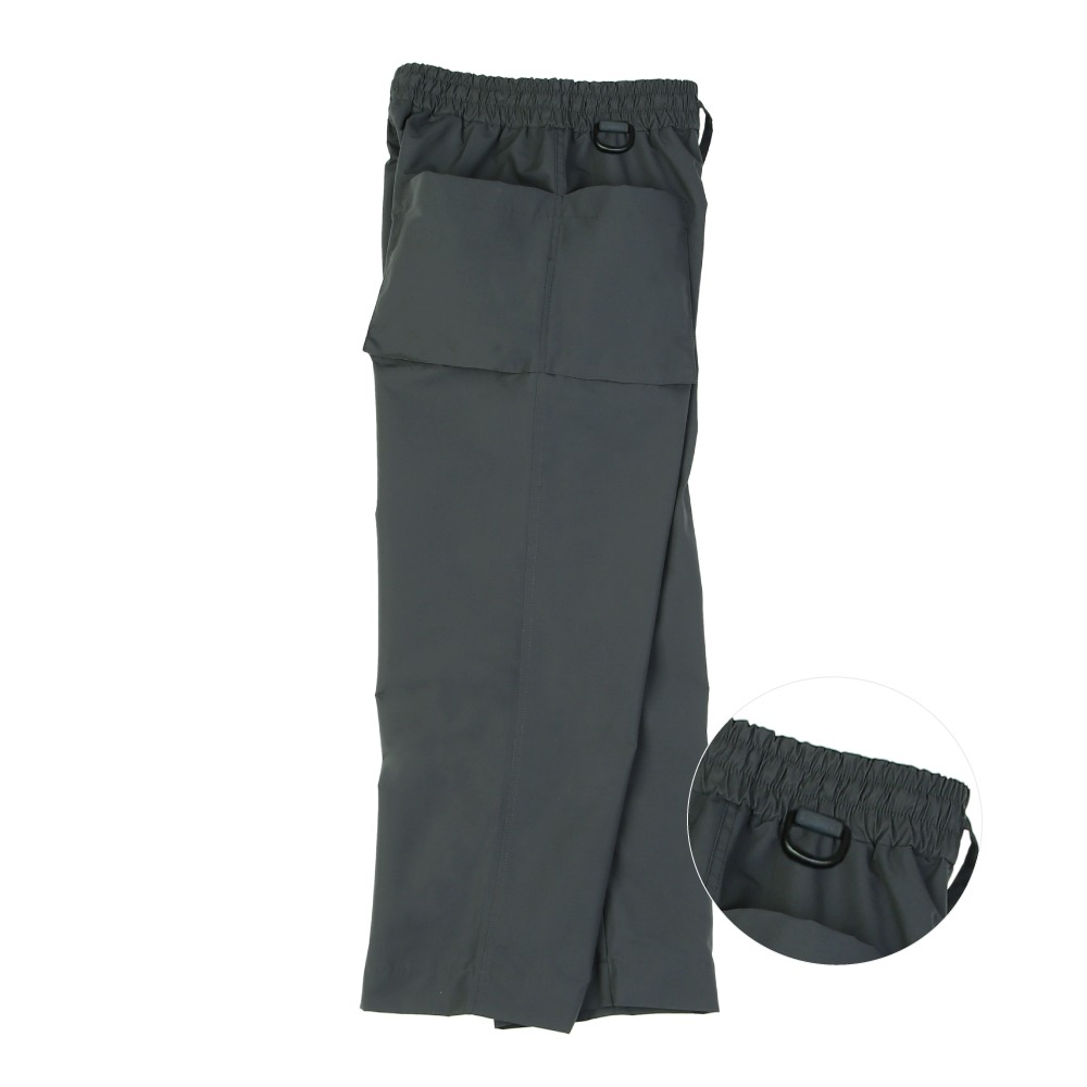 [라운지 에이피티] Double Pocket Handy Pants_Charcoal