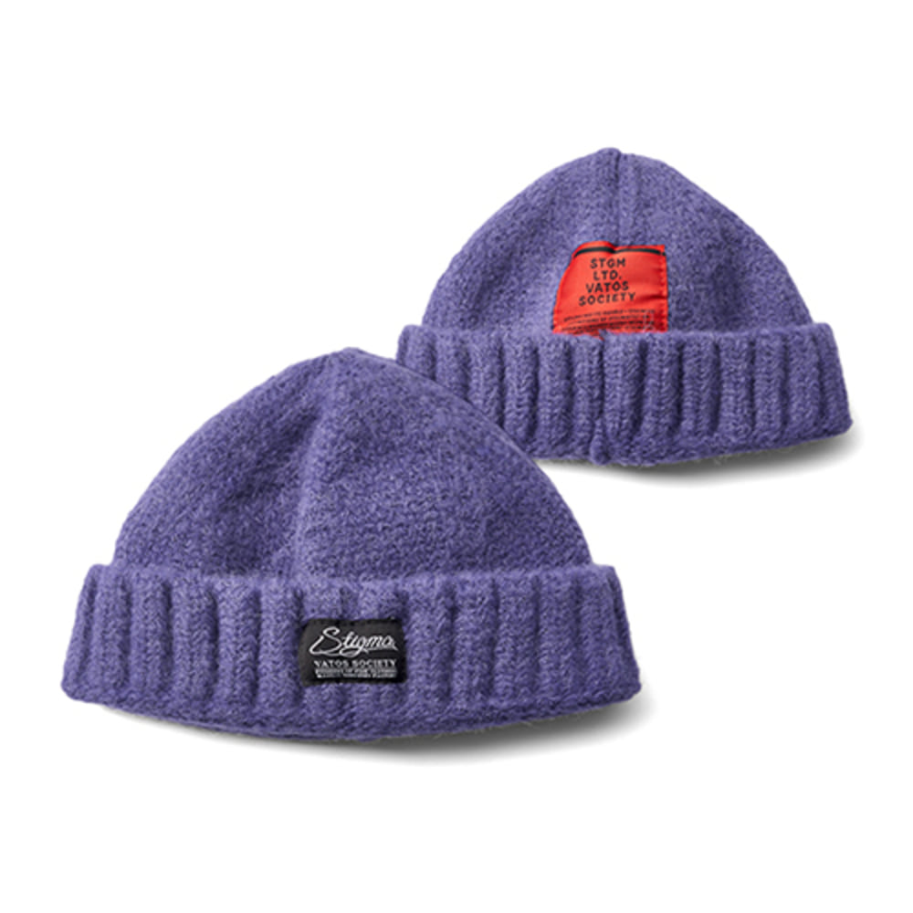 [스티그마]20 WOOL SHORT BEANIE - PURPLE