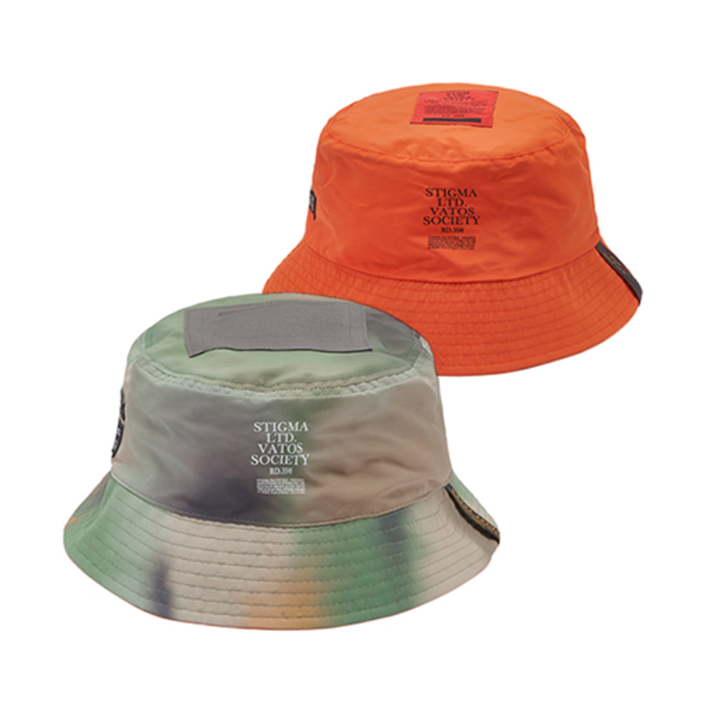 [스티그마]20 CAMOUFLAGE REVERSIBLE BUCKET HAT - PATTERN