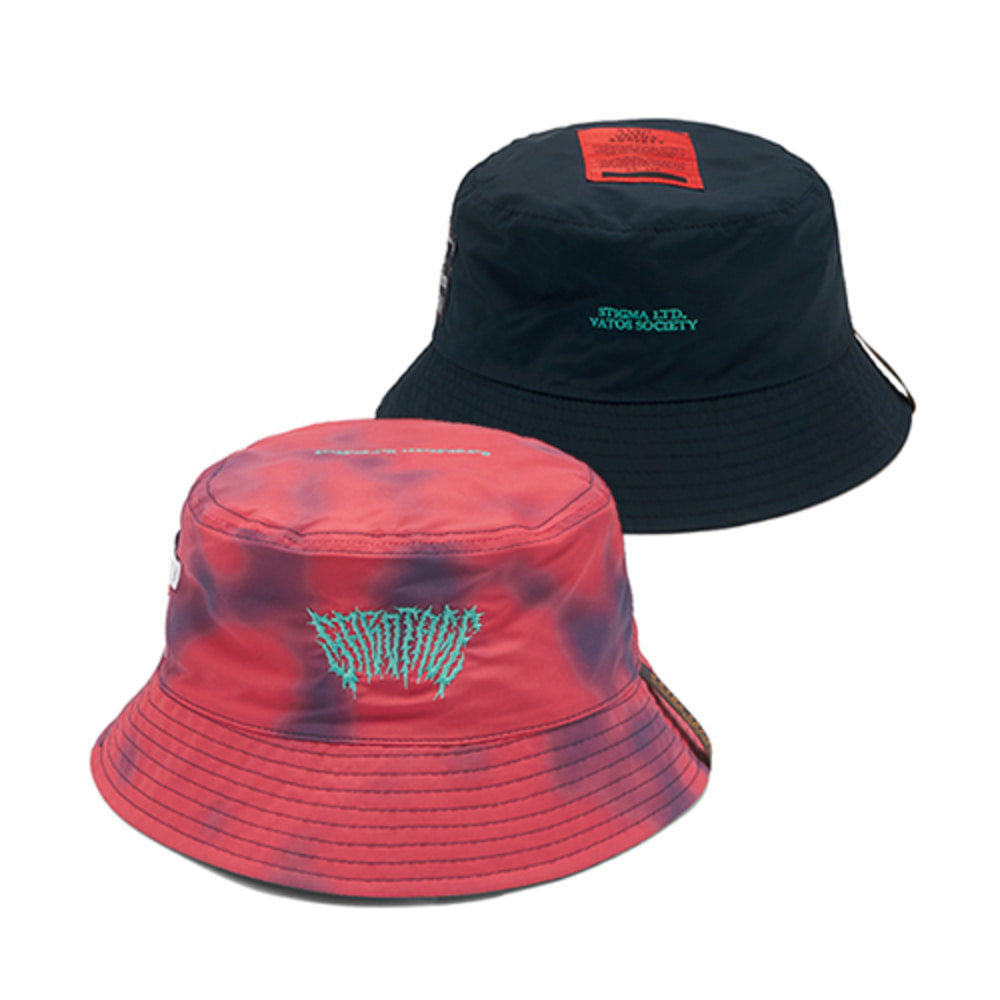 [스티그마]GAUSSIAN REVERSIBLE BUCKET HAT - RED